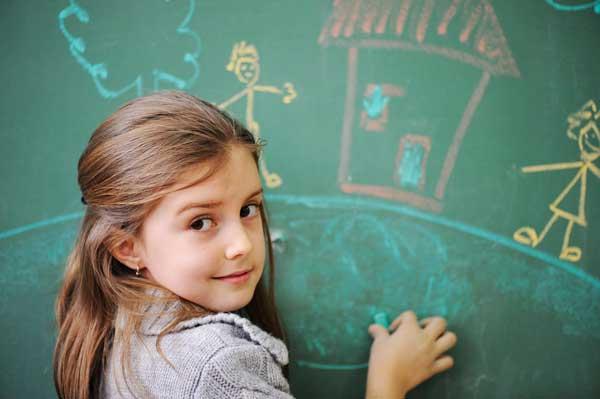 تصویر از نحوه آموزش حروف الفبا، اعداد، رنگ ها و ساعت به کودکان (فارسی و انگلیسی)