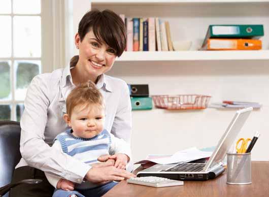 آموزش کامپیوتر به نوزاد