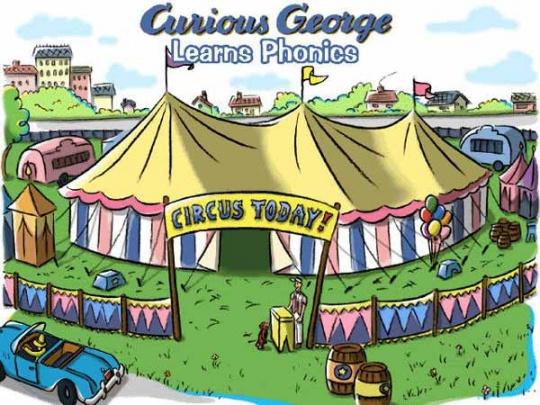 تصویری از انیمیشن curious george