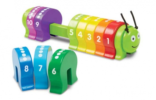 caterpillar math game