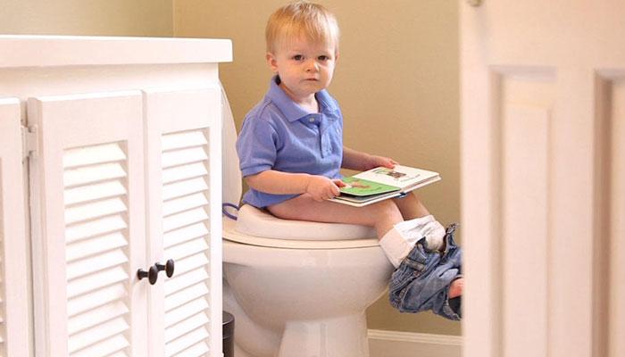آموزش دستشویی رفتن