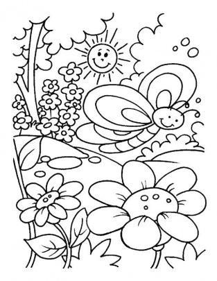 الگوی نقاشی کودکان ۱