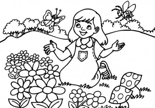 الگوی نقاشی کودکان ۲