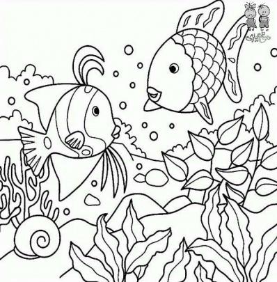 الگوی نقاشی کودکان ۳