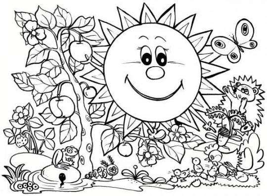الگوی نقاشی کودکان ۴
