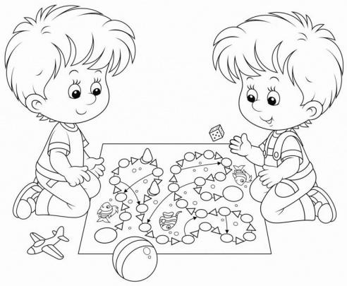 الگوی نقاشی کودکان ۶