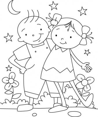 الگوی نقاشی کودکان ۹