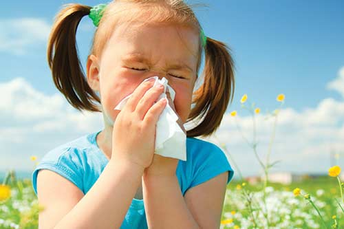 آلرژی-کودک