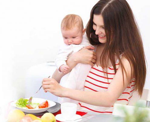 تغذیه-مادران