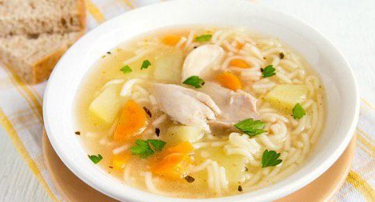 سوپ مرغ۲