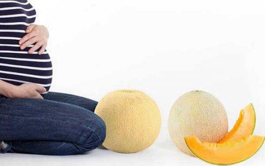 خوردن-طالبی در-دوران-بارداری