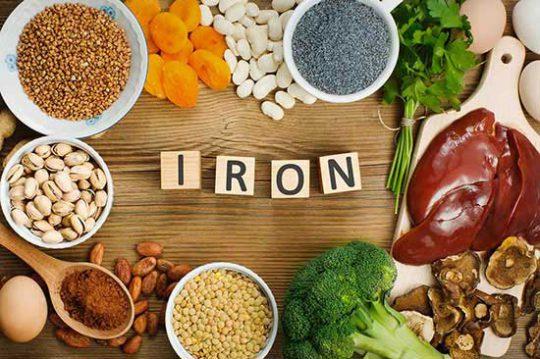 مواد-غذایی-حاوی-آهن