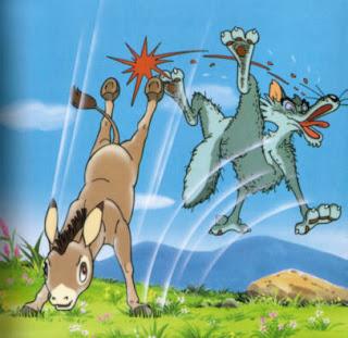 الاغ و گرگ