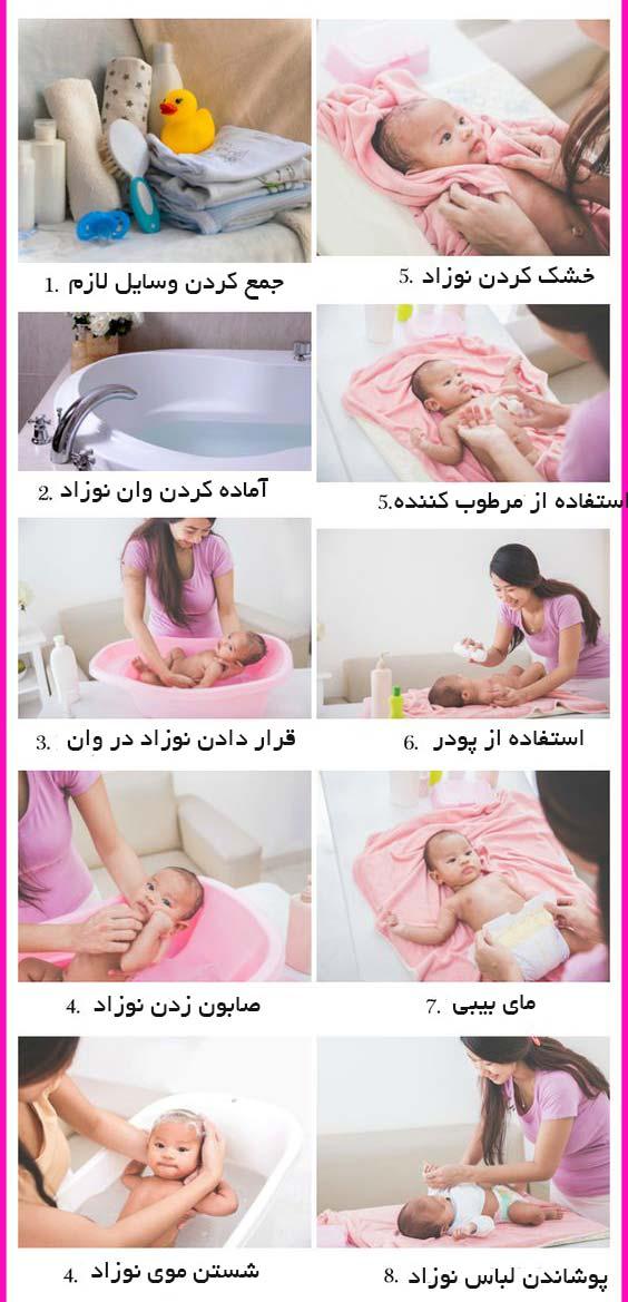 حمام-نوزاد