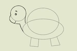 نقاشی لاک پشت۵