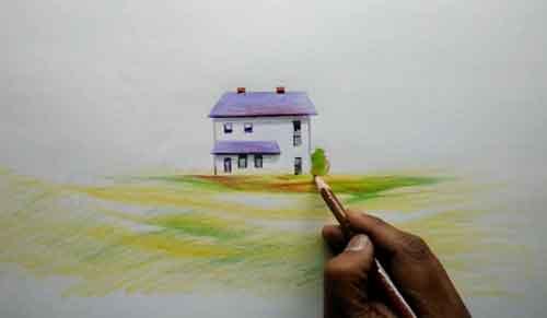 نقاشی-منظره-پاییزی۲۲