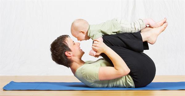 ورزش مادر شیرده