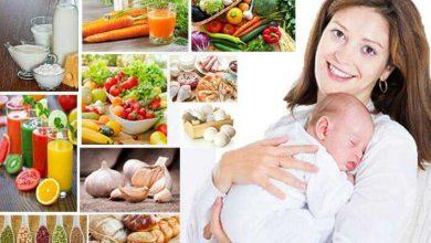 رژیم-غذایی-مادران-شیرده