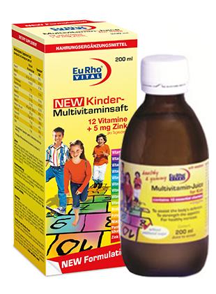 شربت کیندر مولتی ویتامین + روی