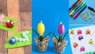 تصویر از آموزش تصویری ۳ کاردستی خلاقانه و جدید با وسایل روزمره (ویژه کودکان)