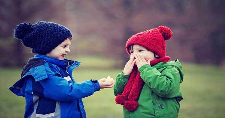 درمان-سرفه-کودکان-عکس