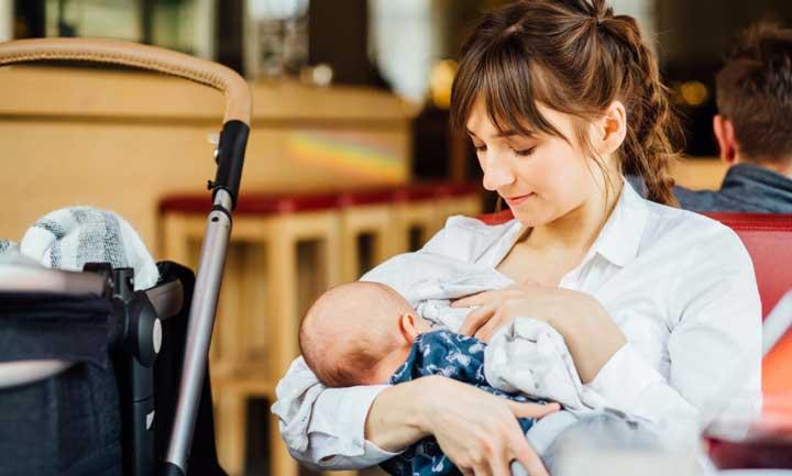شیردادن به نوزاد