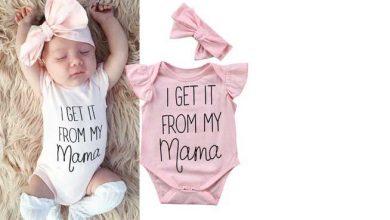 تصویر از لباس نوزادی دخترانه: موارد مورد نیاز و همه نکات مهم که باید بدانید!