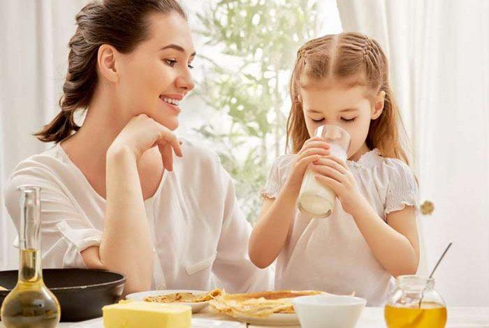 شیر دادن به کودک
