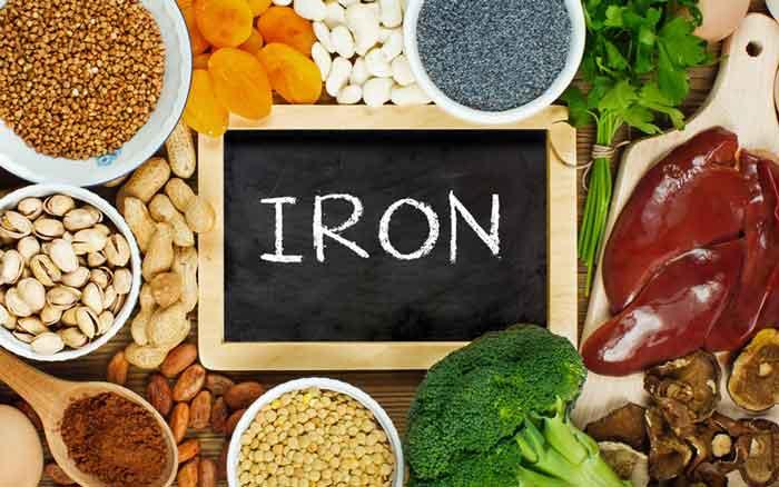 غذای سرشار از آهن
