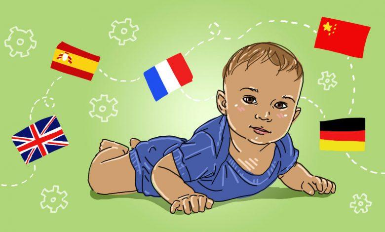 تصویر از بهترین سن فرستادن کودک به کلاس درس و یادگیری زبان