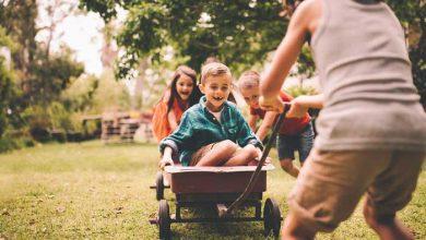 کودک در حال بازی