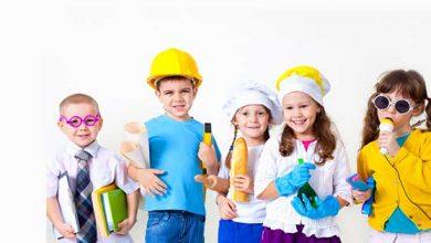 علایق مختلف کودکان